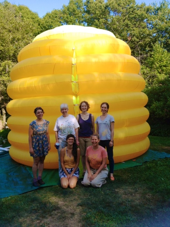 The whole gang! Thanks for a wonderful day and festival at the Leland Street Community Garden!